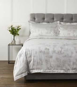 Haremlique Hasbahce Jacquard Oxford Pillowcase Pair (50cm x 75cm)