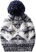 Joe Fresh Toddler Boys' Nordic Hat, Navy (Size 1-3)