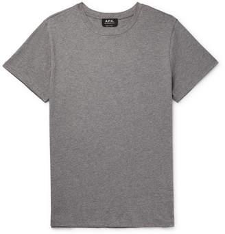 A.P.C. Jimmy Cotton-Jersey T-Shirt