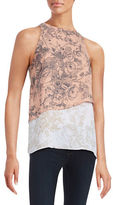 Bailey 44 Victor Tiered Floral Tank Top