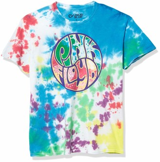 Liquid Blue Pink Floyd Liquid Light Show Tie Dye T-Shirt XX-Large