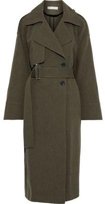 Victoria Beckham Oversized Gabardine Trench Coat