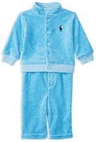 Ralph Lauren Infant Boys' Velour Jog Set - Sizes 3-24 Months
