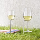Crate & Barrel Steady Stick Wine Glass Holders Set of Two