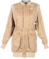 Balmain Sable Zipped Coat