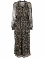 Thumbnail for your product : Lala Berlin Spray Print Maxi Dress
