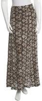 Cacharel Silk Maxi Skirt