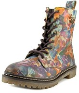 Coolway Moonsun Women Round Toe Leather Multi Color Ankle Boot.