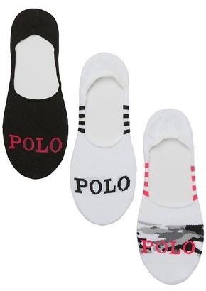 Ralph Lauren Camo Sneaker Liners 3-Pack