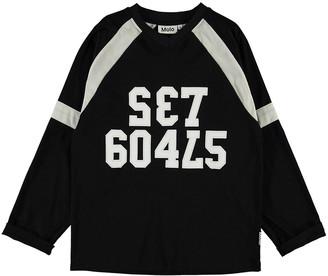 Molo Boy's Reimar Set Goals Long-Sleeve T-Shirt, Size 4-12