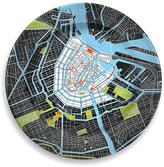 notNeutral Amsterdam Porcelain City Plate