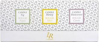 La Rochere Bee Honey Candles, Set of 3