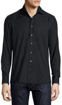 Etro Tonal Paisley Jacquard Button-Front Shirt
