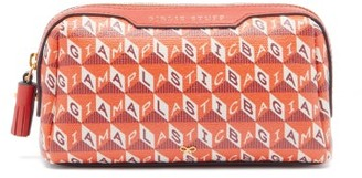 Anya Hindmarch I Am A Plastic Bag Girly Stuff Make-up Bag - Orange Multi