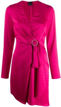 Pinko Bow Wrap Dress