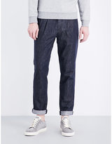 Brunello Cucinelli Leisure-fit Tapered Denim Jeans