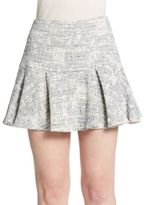 Derek Lam 10 Crosby Pleated Mini Skirt