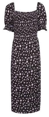 Dorothy Perkins Womens Dp Tall Black Midi Dress, Black