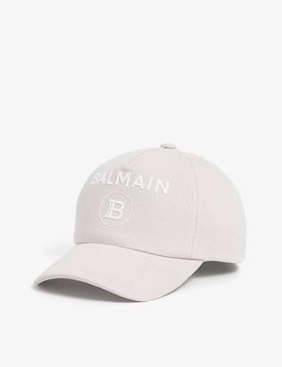 Balmain Logo jersey baseball cap