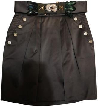 Elisabetta Franchi Green Silk Skirt for Women