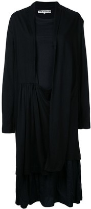 Comme Des Garçons Pre-Owned Open Jacket And Dress
