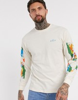 Vans Save Our Planet long sleeved t-shirt in beige