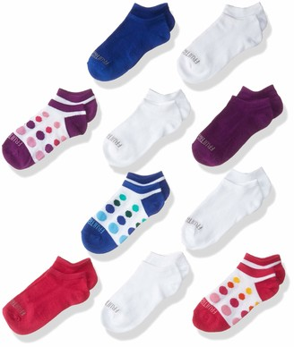 Fruit of the Loom Big Girl's Athletic No Show Socks 10 Pair - Great for School And Sports Sockshosiery