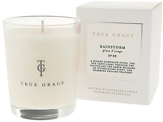 True Grace - Village Candle - After the Rainstorm - white - White/White