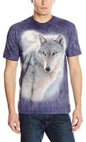 The Mountain Men's Adventure Wolf Adult T-Shirt
