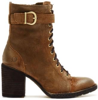 Børn Cass Suede Block Heel Boot
