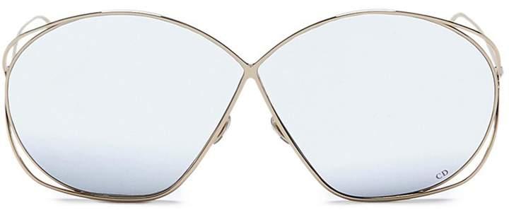 Christian Dior 'Dior Stellaire 2' metal round sunglasses