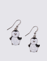 M&S Collection Penguin Drop Earrings