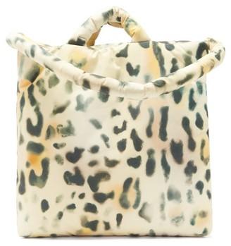 Kassl Editions Tec Medium Leopard-print Padded Tote Bag - Leopard