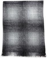 Agnona Benedetta Suri Alpaca Wool Molten Plaid Throw
