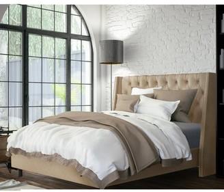 Skyline Furniture Tessa Upholstered Standard Bed Size: King
