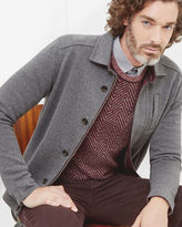 ANDINO Collared jersey jacket