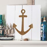 Cathy's Concepts Cathys concepts Rustic Anchor Wood Wall Art