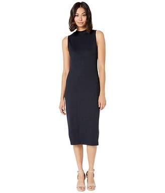 Kensie Drapey Wide Rib Dress KS8K8391