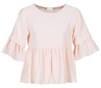 Vila VIHILMA women's Blouse in Pink