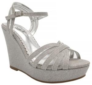 Sugar Women's Capricorn Platform Wedge Sandals Women's Shoes