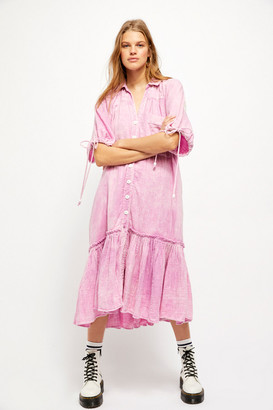 Free People Maya Shirt Dress
