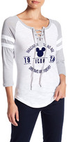 Freeze Mickey Lace-Up Graphic Tee