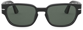 Persol 52MM Strippe Square Sunglasses