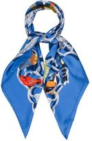 Hermes Oiseaux de l'Inde Silk Scarf