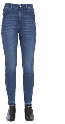 Alexander McQueen High-Waisted Jeans