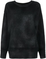 Avant Toi thick ribbed sweater