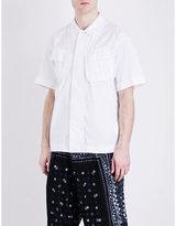 Sacai Cargo Cotton-twill Shirt