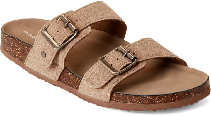 d813589b91c Taupe Brando Double Band Slide Sandals