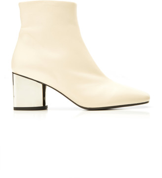 Proenza Schouler Metallic Leather Ankle Boots