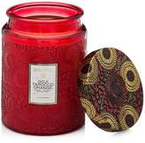 Voluspa Japonica Goji Tarocco Orange Large Glass Candle